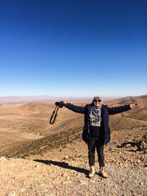Sisi pegunungan Atlas